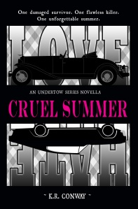 CRUEL SUMMER 5.5 x 8 cover only