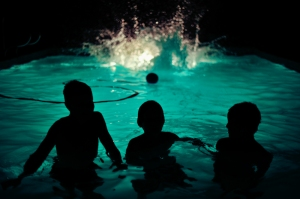 night-swimming