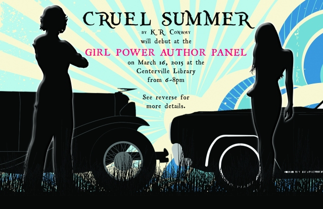 cruel summer book launch