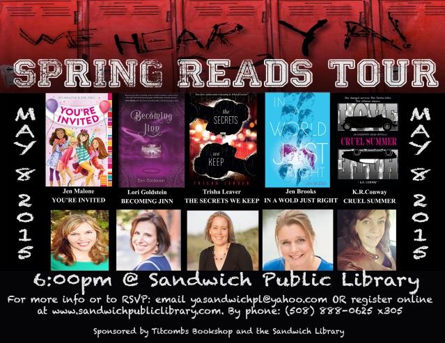 YA Spring Reads Tour