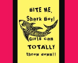 Bite me shark boy