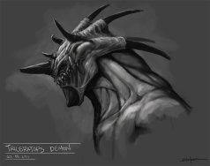 triceratops_demon_by_sanggene-d4dcvvj